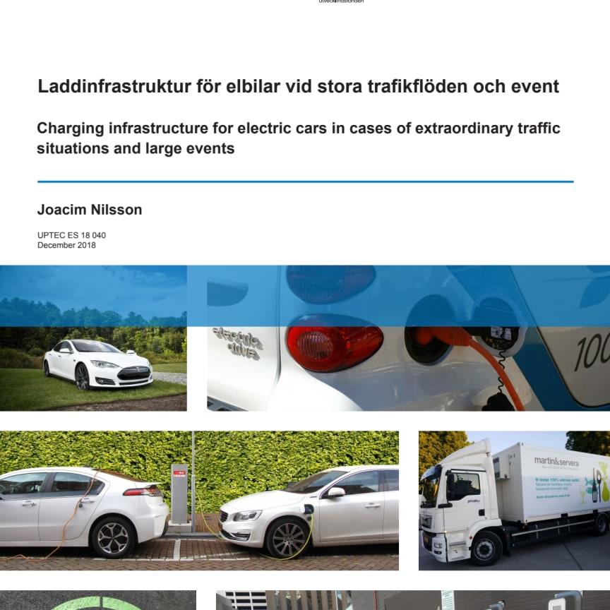 EXJOBB: Laddinfrastruktur för elbilar vid stora trafikflöden och event