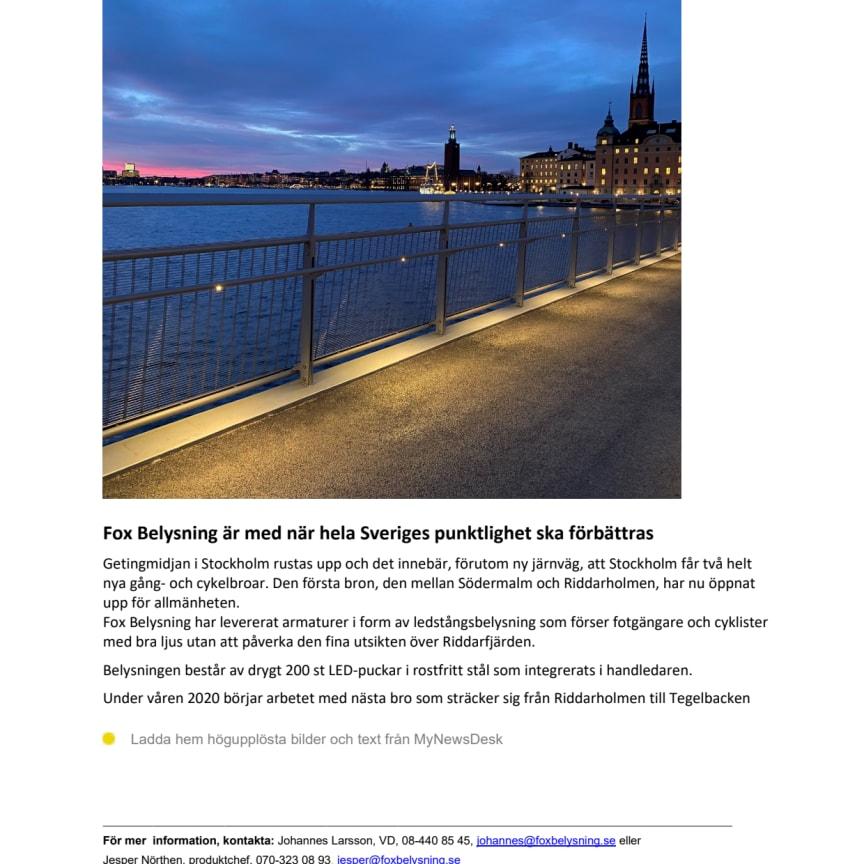 PDF Fox Belysning på Getingmidjan, Stockholm