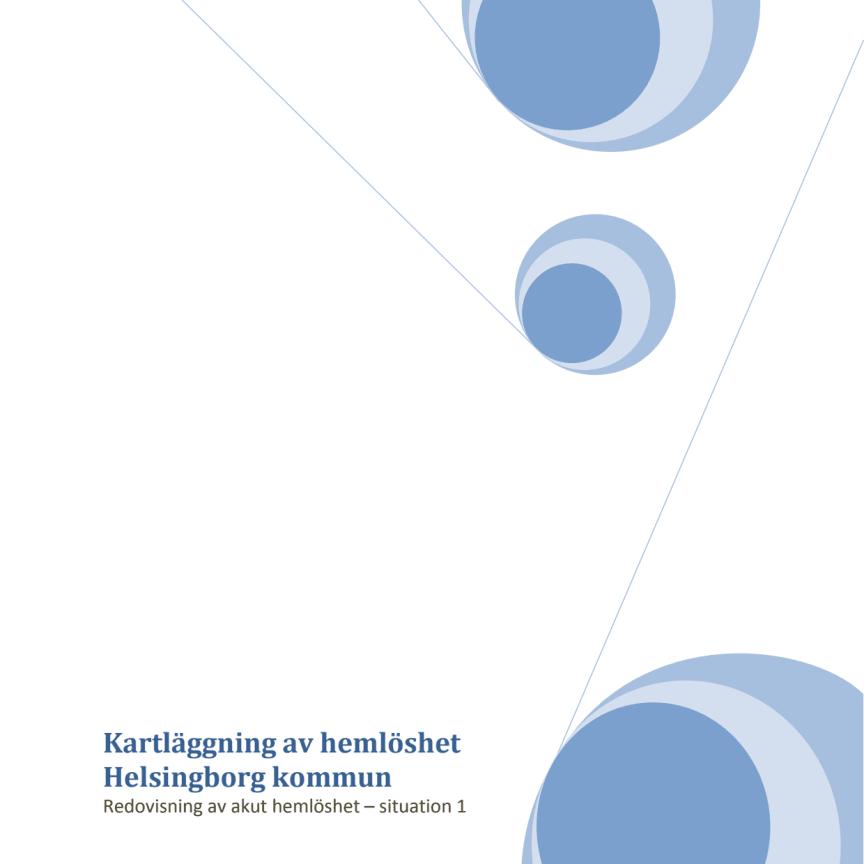 Kartläggning av hemlösheten i Helsingborg 2012