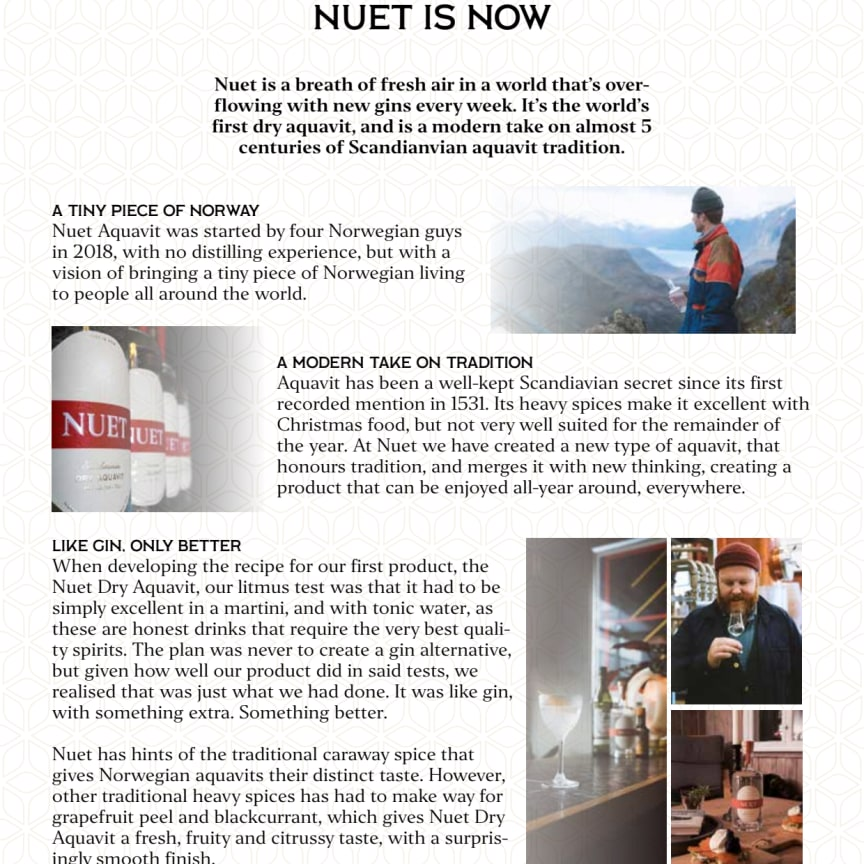 Nuet One Pager