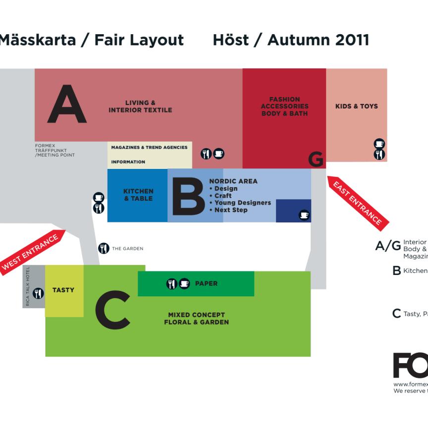 Formex Fair Layout Autumn 2011