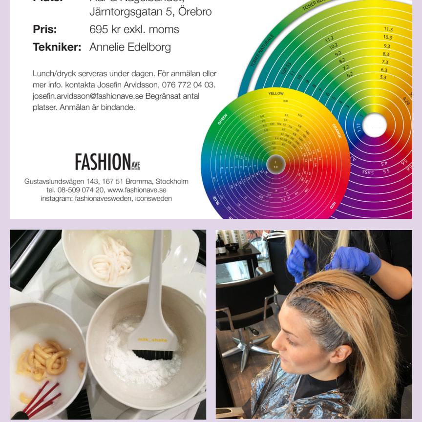 Färgutbildning i Örebro 8 maj