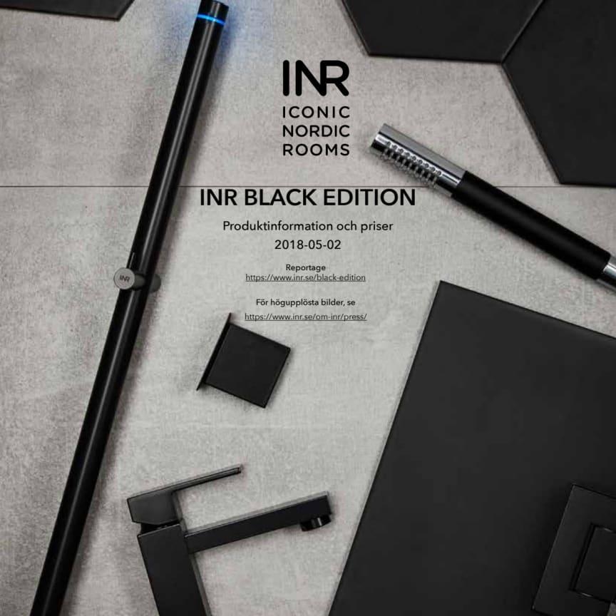 Följ den svarta tråden i badrummet med INR Black Edition!