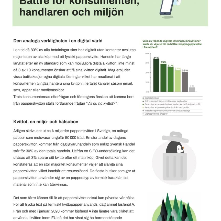 White paper om digitala kvitton