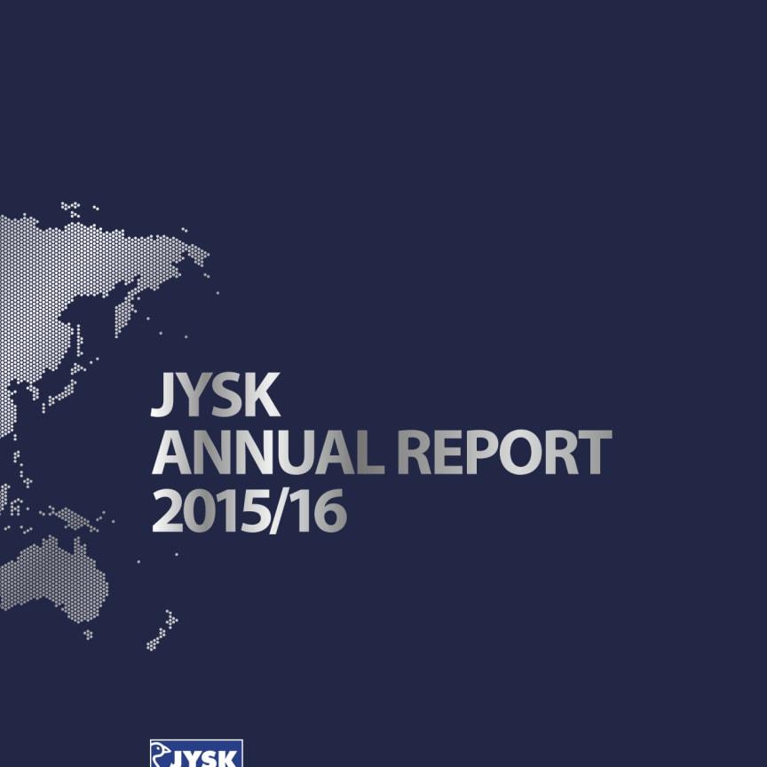 JYSK Annual Report 2015/16