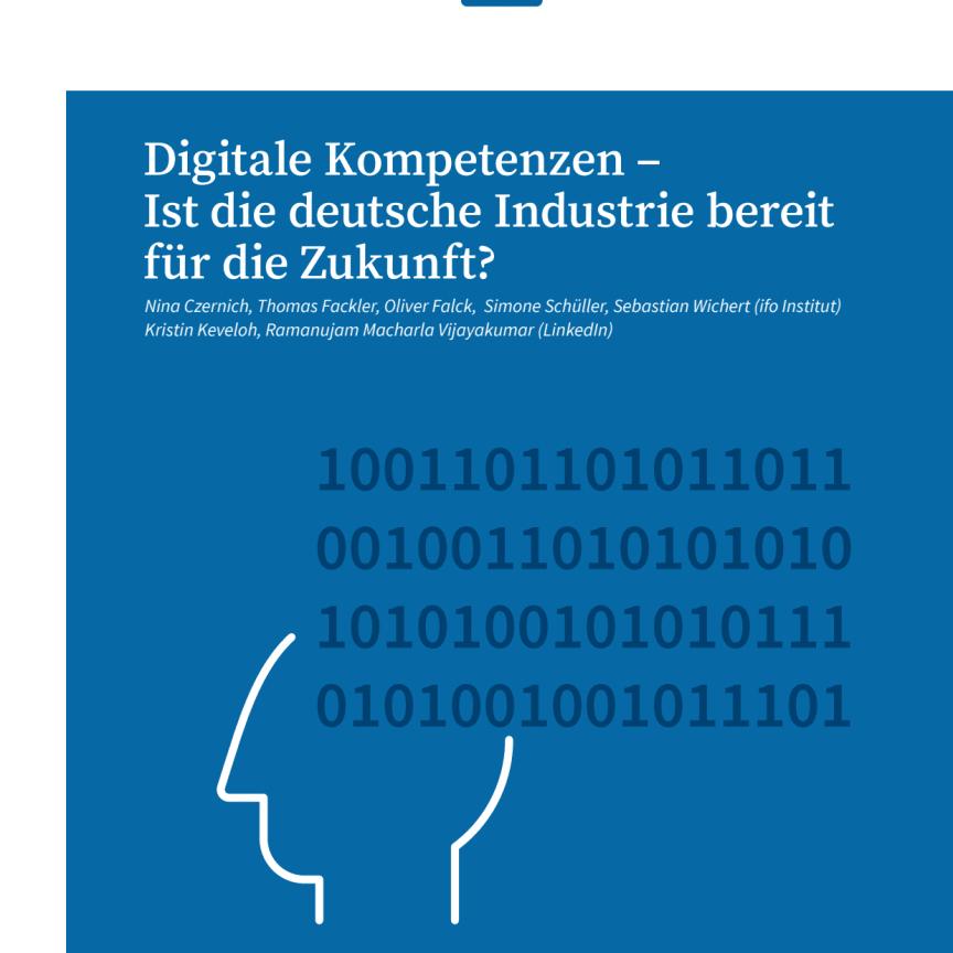LinkedIn: ifo Studie Digitalkompetenzen in der Industrie