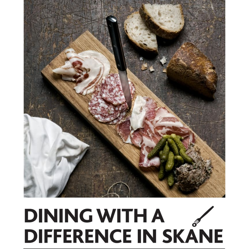 PRESSINFO: Dining with a difference in Skåne