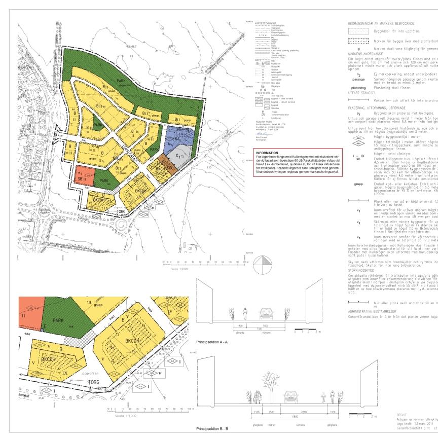 Karta Over Nyexploatering I Mariastaden Helsingborgs Stad