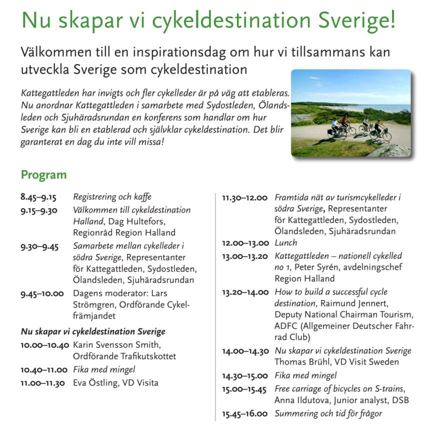 Konferens Cykelleder, program