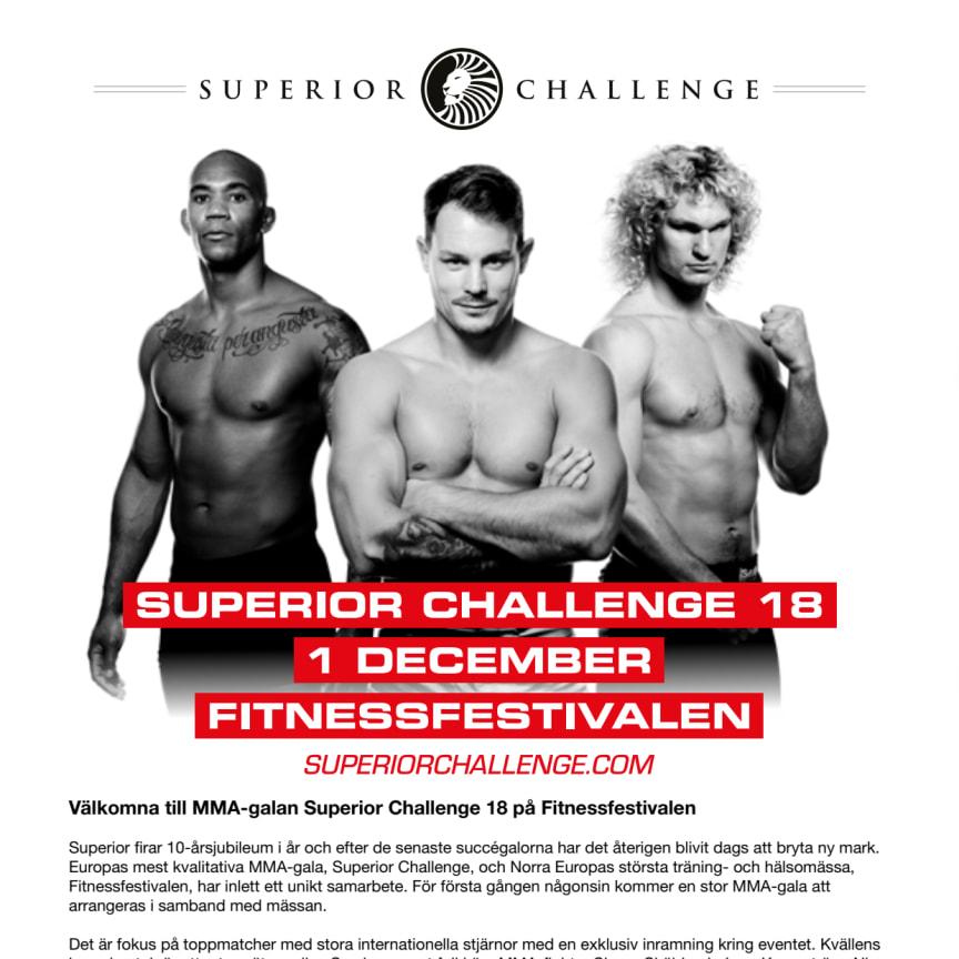 Pressinbjudan Superior Challenge