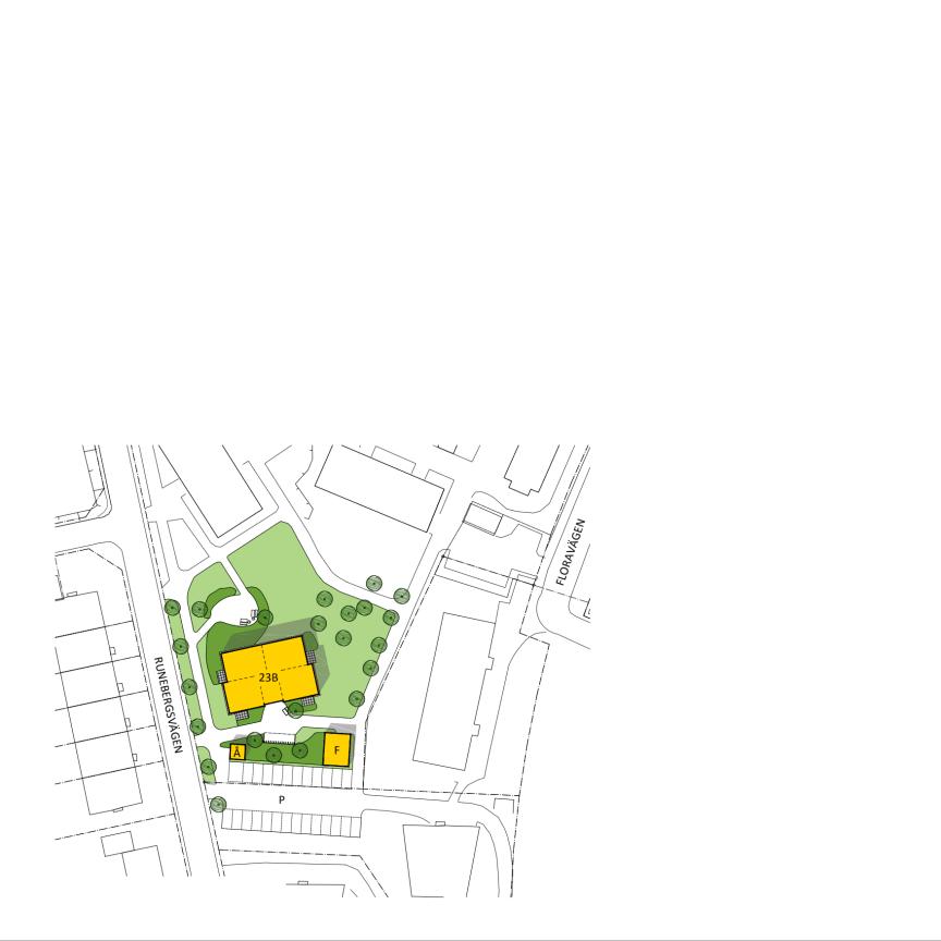 Villastaden Situationsplan
