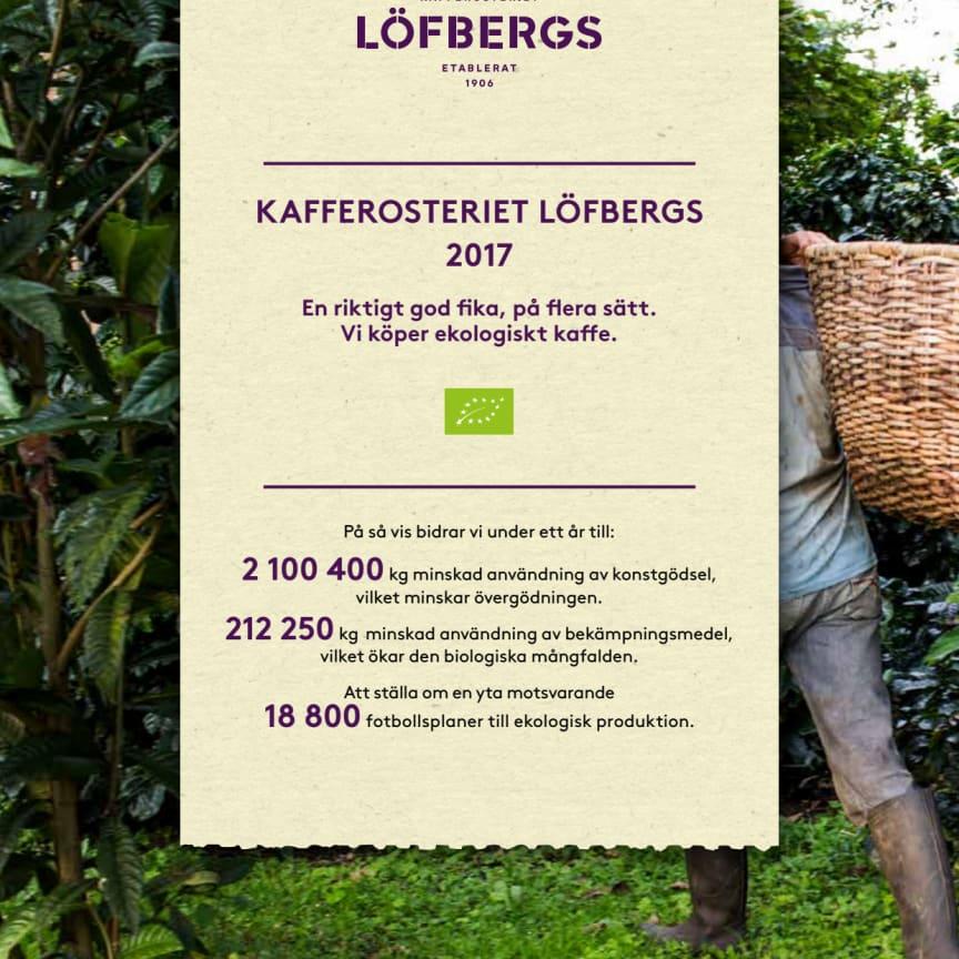 Löfbergs ekologiska kvitto 2017