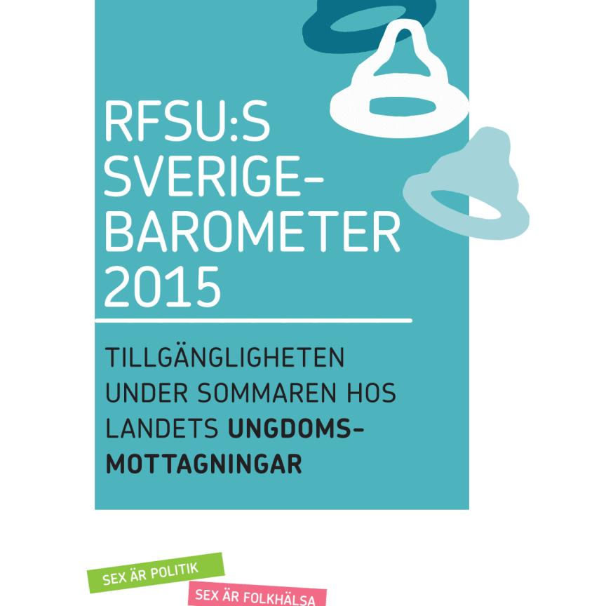 Sverigebarometern 2015 del 1 om ungdomsmottagningarnas öppettider