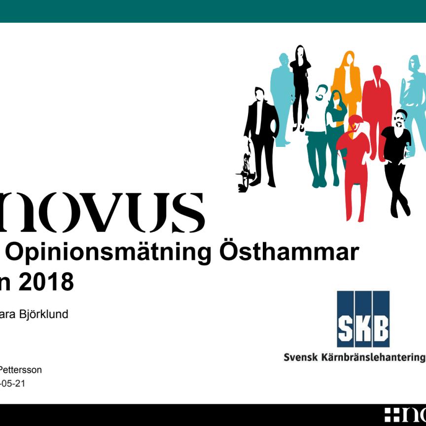 SKB Opinionsundersökning Östhammar 2018