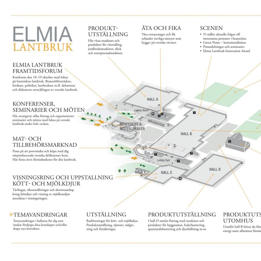 Översikt Elmia Lantbruk 2016