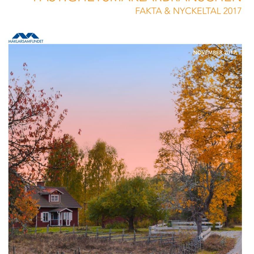 Fastighetsmäklarbranschen Fakta & nyckeltal 2017