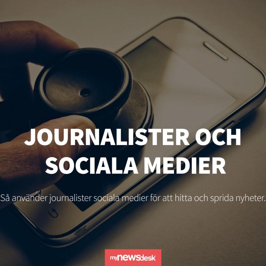 Rapport: Journalister och sociala medier