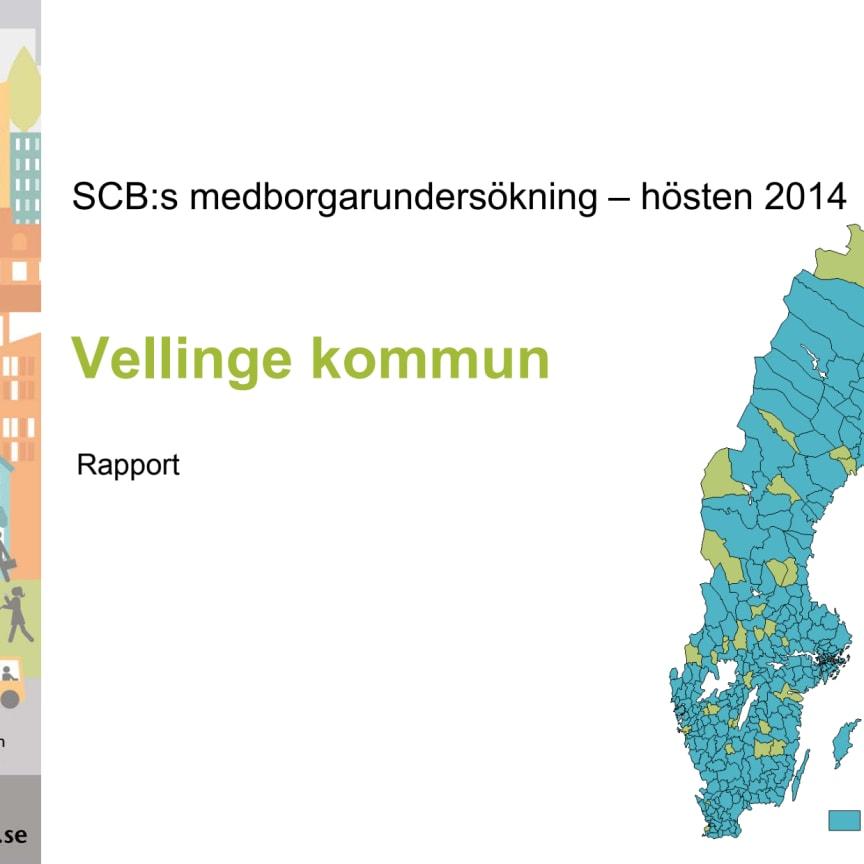 Ladda ner hela rapporten: Vellinge kommun i SCB:s medborgarundersökning