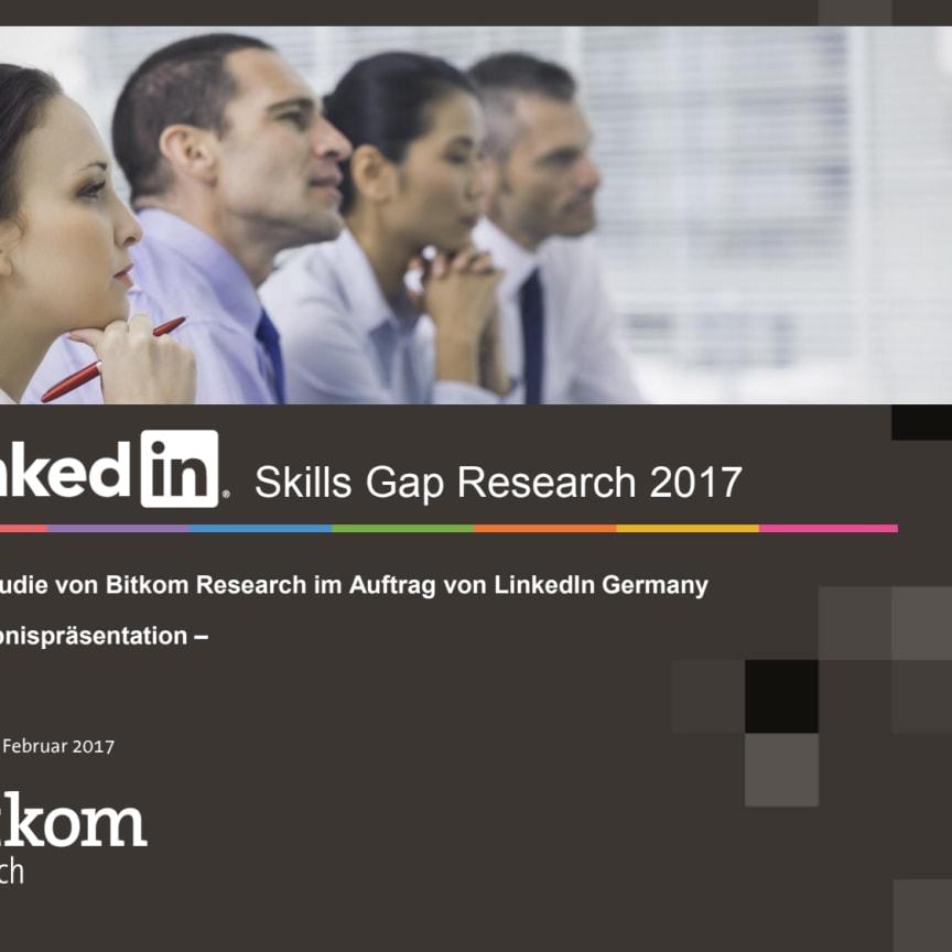 LinkedIn - Skills Gap Studie BITKOM