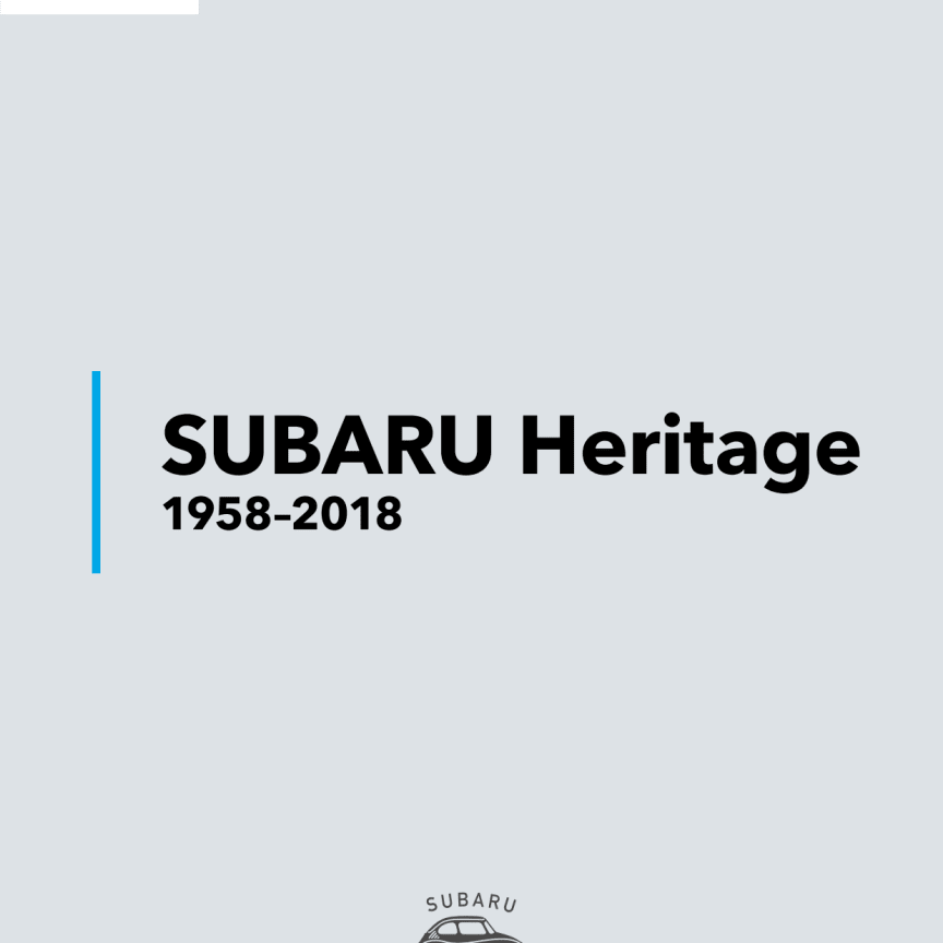 Subaru 60 år