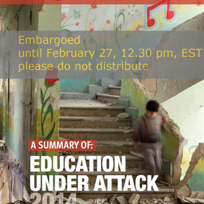Education Under Attack - Summary