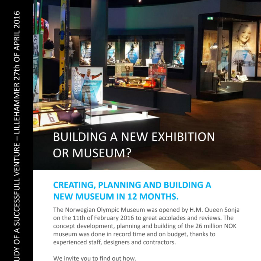 Seminarprogram «Creating, planning and building a new museum in 12 months»