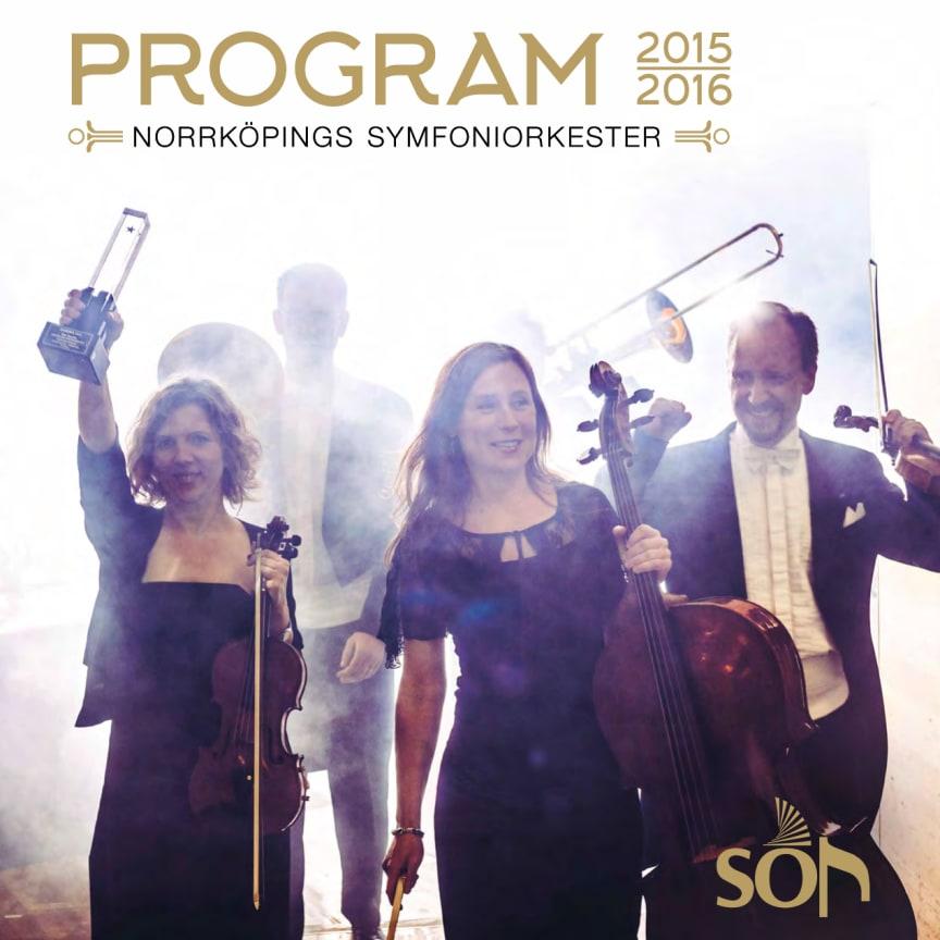 Generalprogrammet för Norrköpings Symfoniorkester 2015-2016