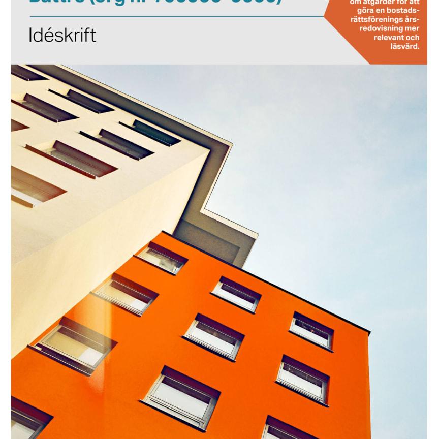 Tips om förbättrad årsredovisning för bostadsrättsföreningar
