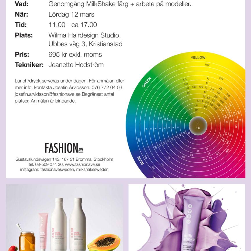 MilkShake & ICON färgutbildning