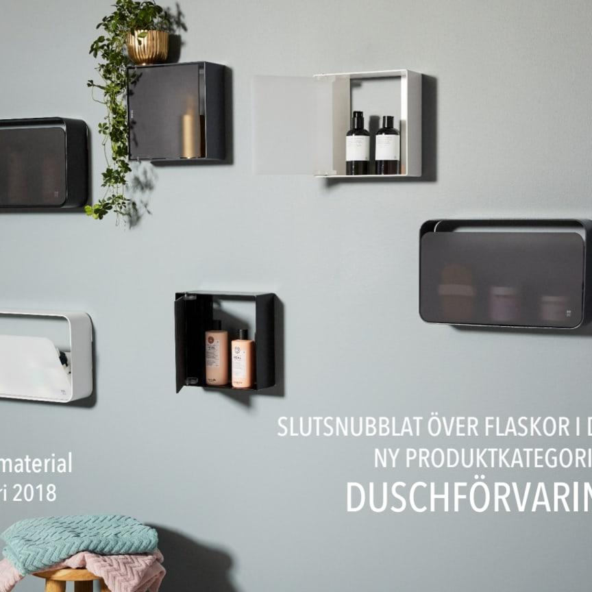 Duschförvaring produktinfo och priser