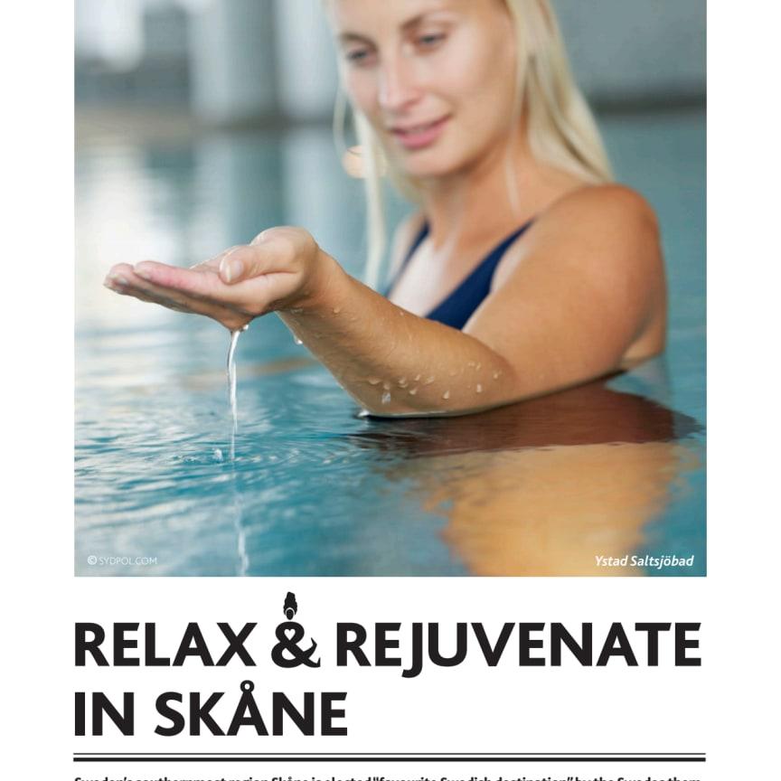 PRESSINFO: Relax and rejuvenate in Skåne