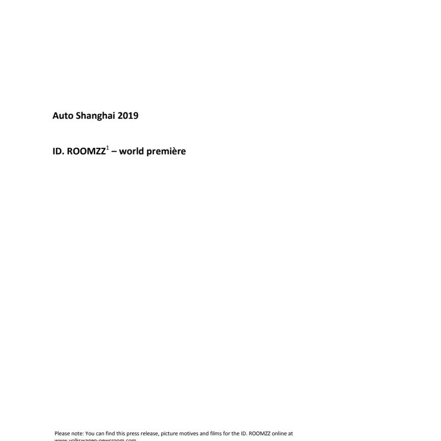 ID. ROOMZZ pressemeddelelse lang version UK