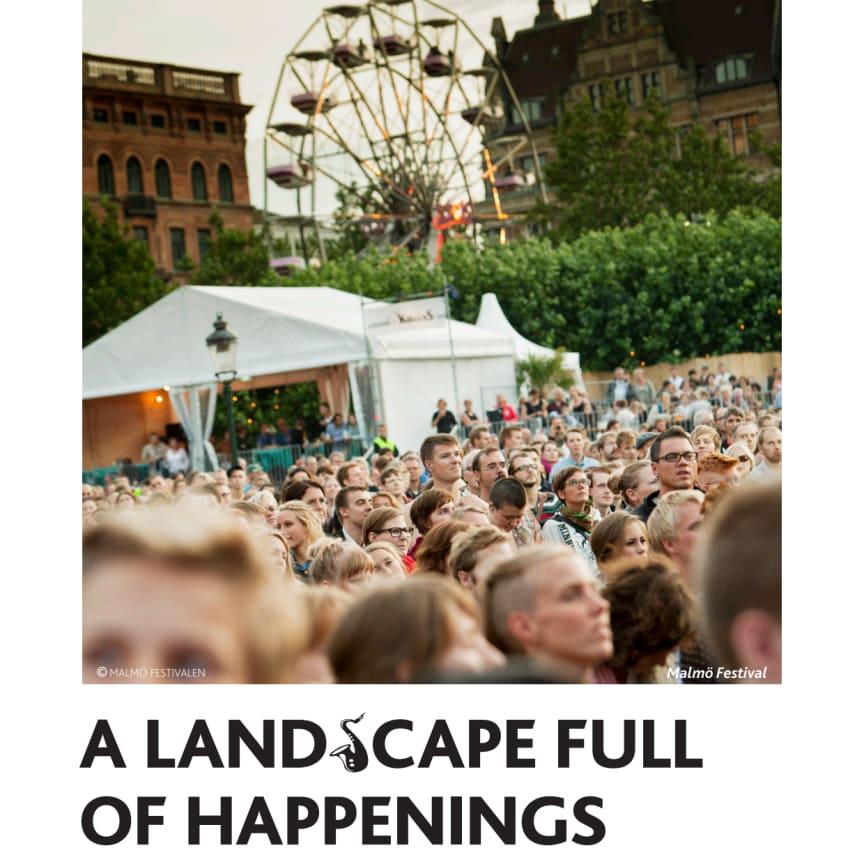 PRESSINFO: A landscape full of happenings