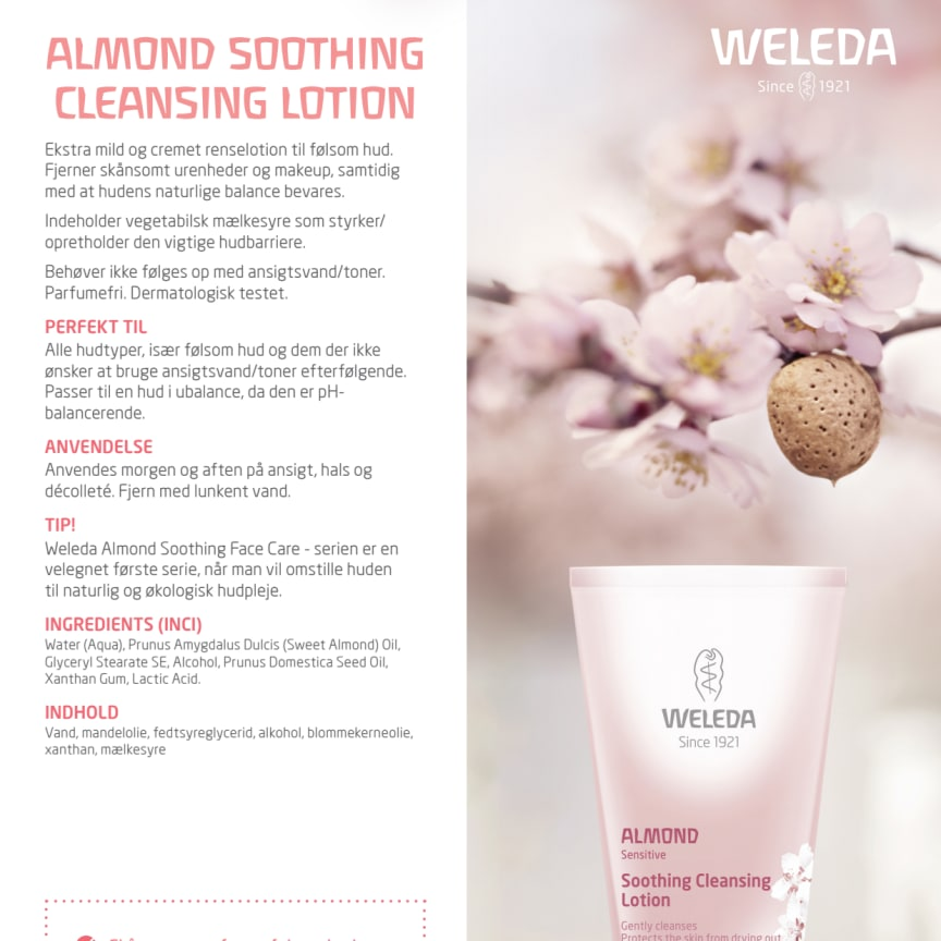 Dansk: Almond Soothing Cleansing Lotion
