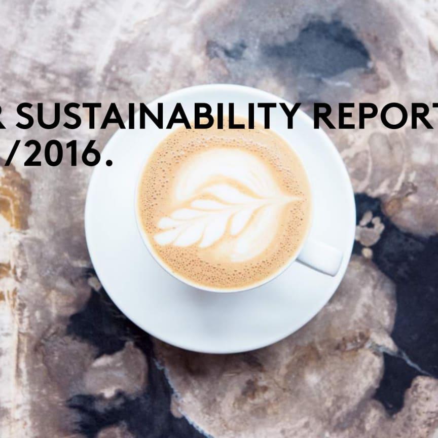 Sustainability Report 2015/2016