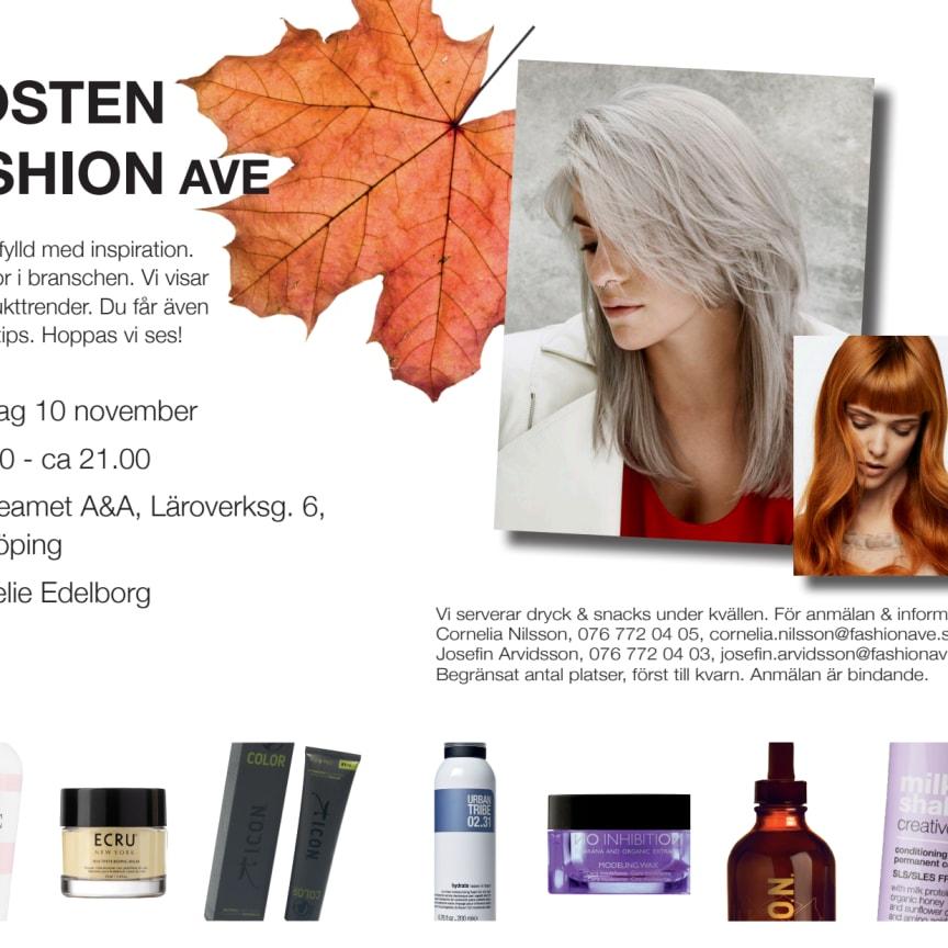 Möt hösten med FashionAve - Linköping