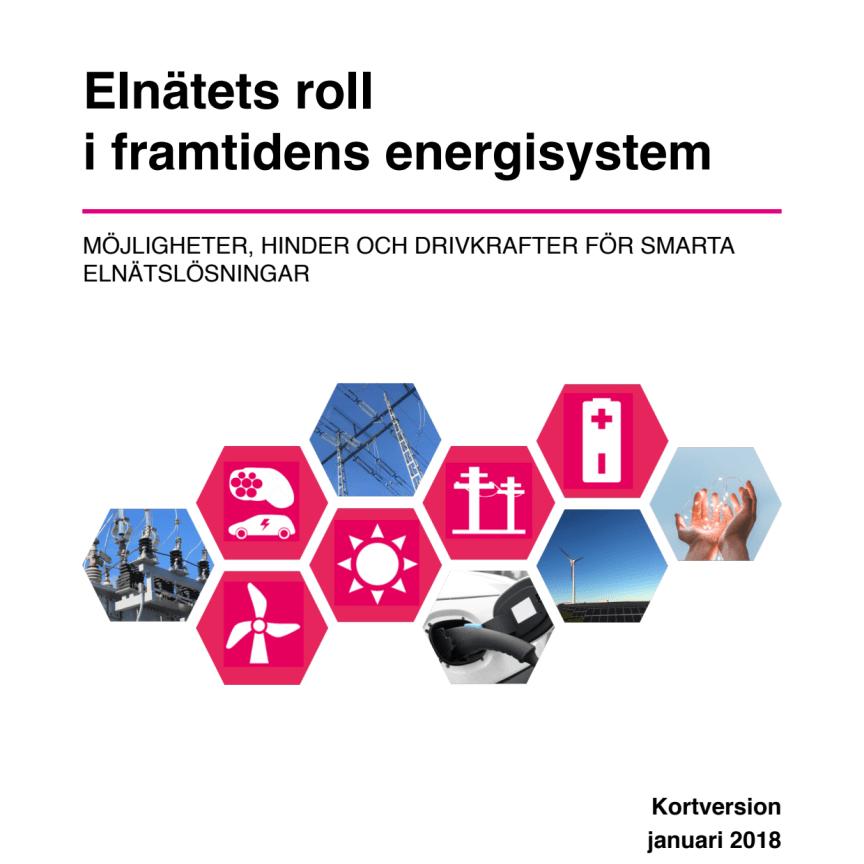 Elnätets roll i framtidens energisystem - kort