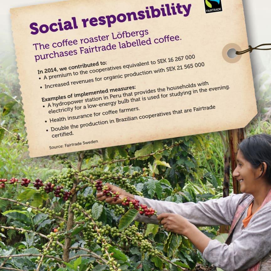Social responsibility 2014 Löfbergs