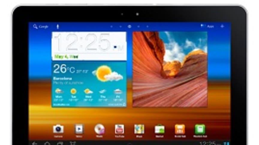 Telenor erbjuder Samsung Galaxy Tab 10.1 – ökar surfhastigheten upp till 16 Mbit/s