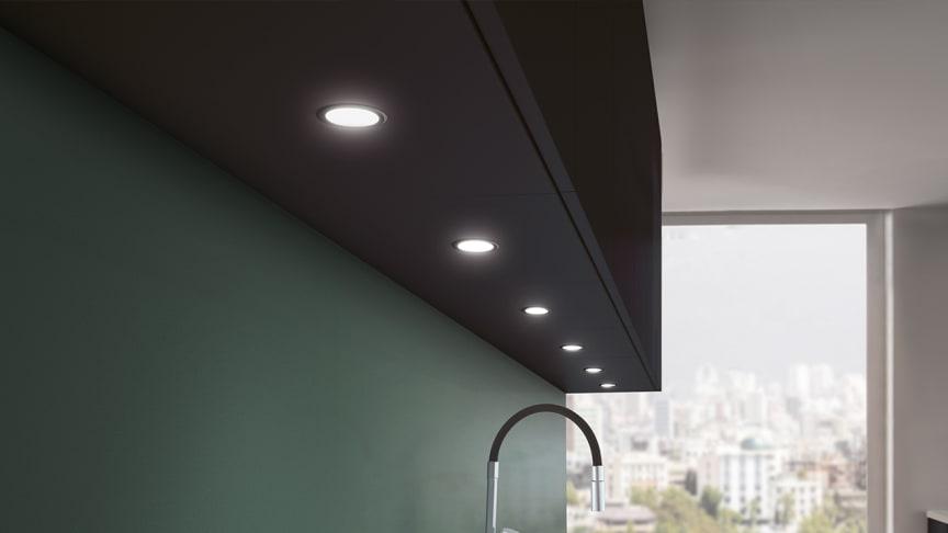 Stella LED-spot finns nu även i svart
