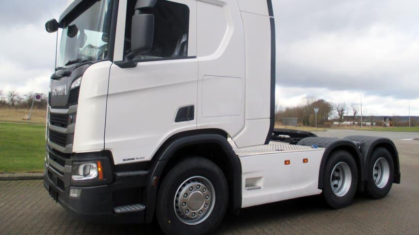Den nye Scania R 500 er nu en del af Scanias udlejningsflåde.