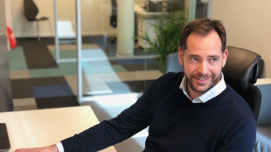 Daglig leder i Avento, Stian Bang, vil samle kompetansen i Visma og Avento for å skape et unikt fagmiljø.