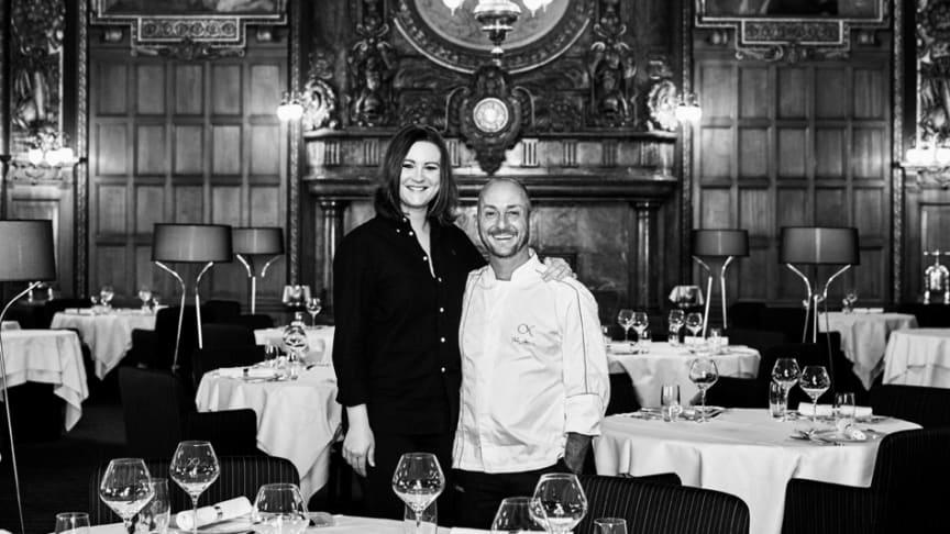 Isabelle Sjövall och Stefano Catenacci