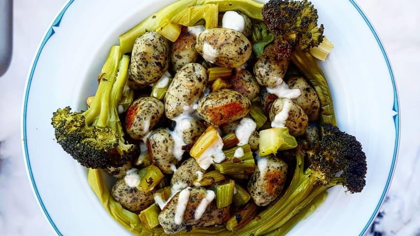 Smarrig vegansk gnocchi med #Broccoloco!