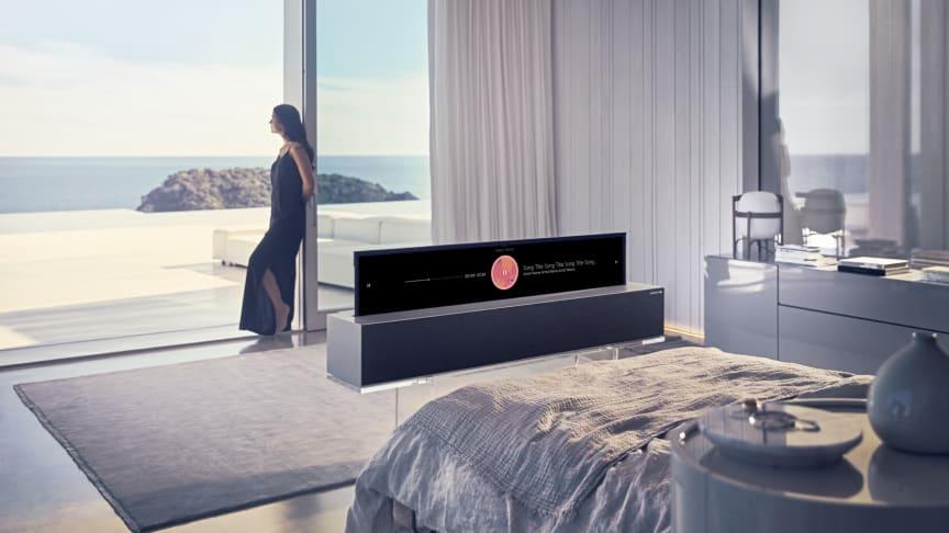LG SIGNATURE OLED TV R (modell 65R9)