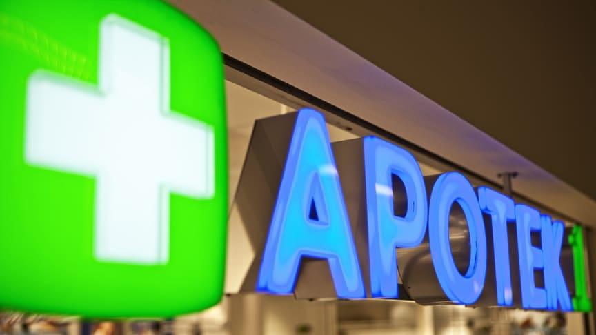 Apotek 1 ber at de som er i karantene ikke kommer til apotekene. (foto: Apotek1)