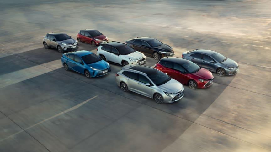 Toyota passerer 15 millioner solgte hybridbiler globalt