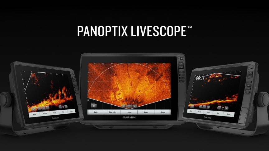 Garmin® tilføjer Perspective Mode til sit arsenal af Panoptix LiveScope live-scanning ekkoloder