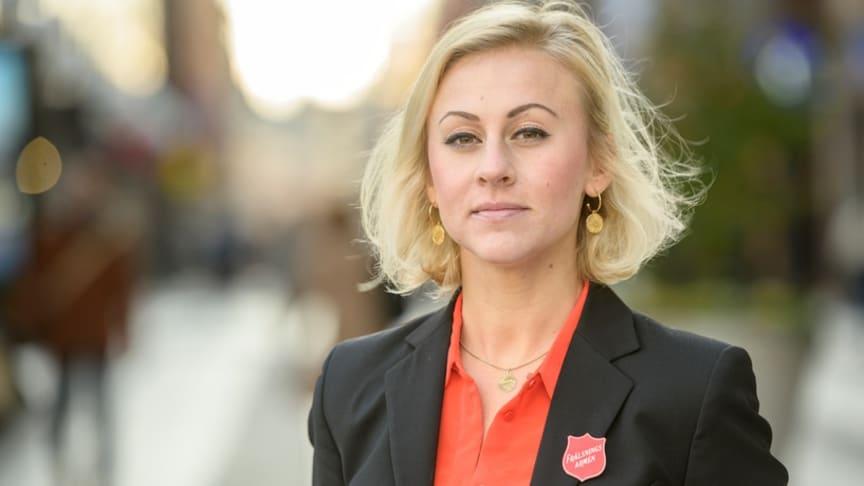 ingen kan längre påstå att människohandel och prostitution inte finns i Helsingborg, säger Emma Cotterill, nationell samordnare för Frälsningsarméns arbete mot människohandel. Foto: Jonas Nimmersjö