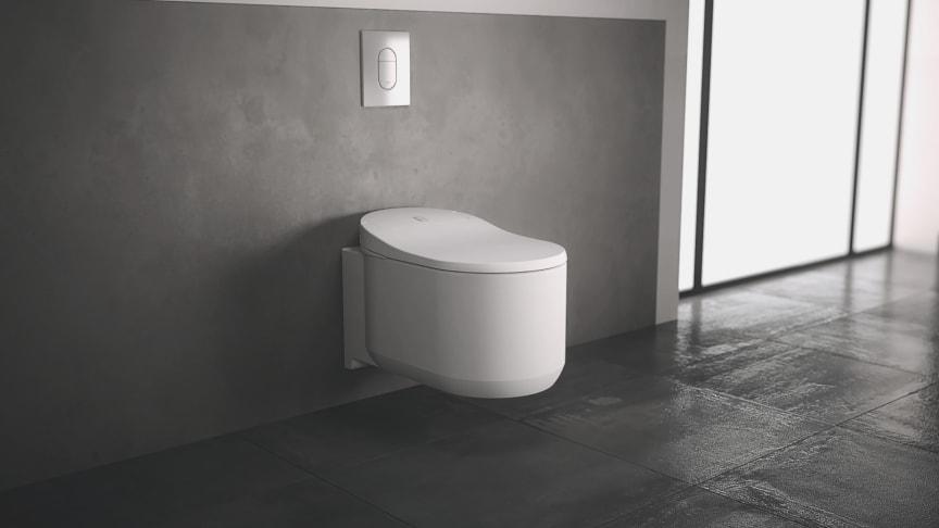 Tyylikäs, käytännöllinen ja hygieninen GROHE Sensia Arena suihku-WC